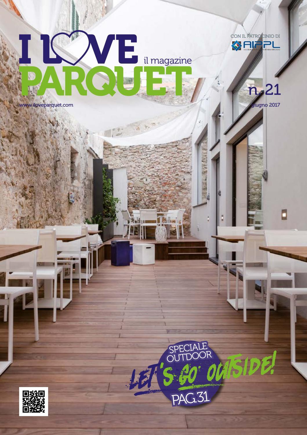 Parquet Spazzolato O Liscio 21° numero della rivista di i love parquet by federlegno