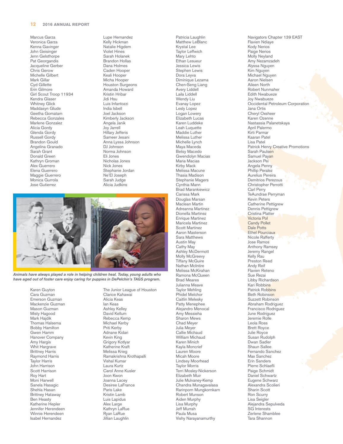 2016 Annual Report by DePelchin Children's Center - Issuu
