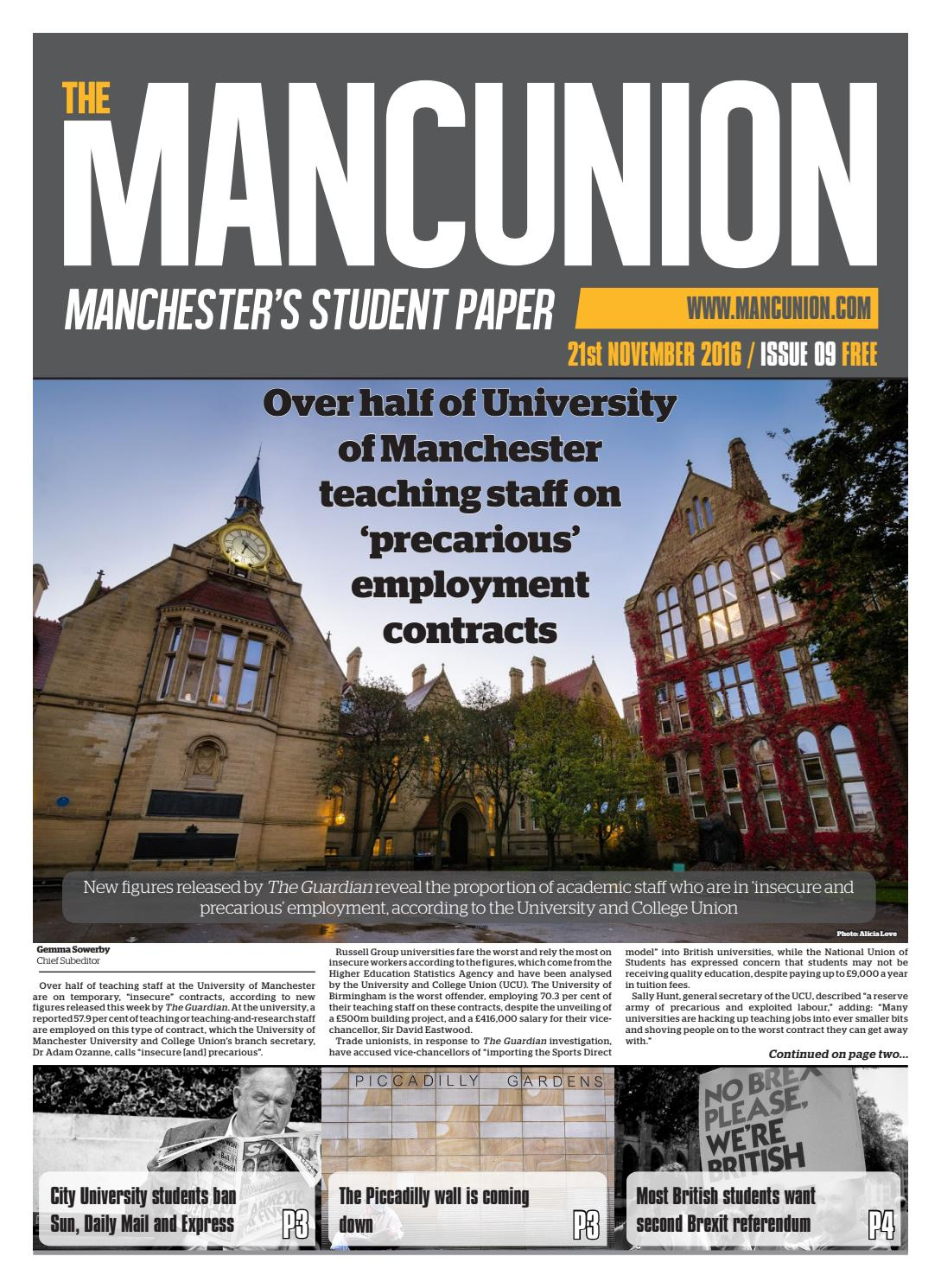 0c3baad4b5a62d Issue9 by The Mancunion - issuu