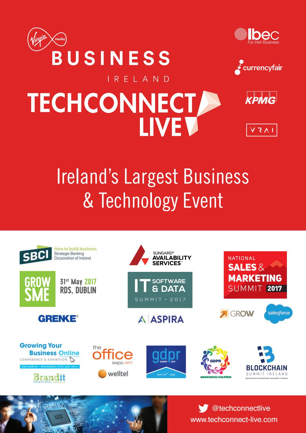 Tech connect 2017 brochure by Colin Murphy - issuu