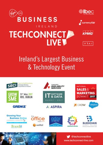 Tech Connect 2017 Brochure By Colin Murphy Issuu