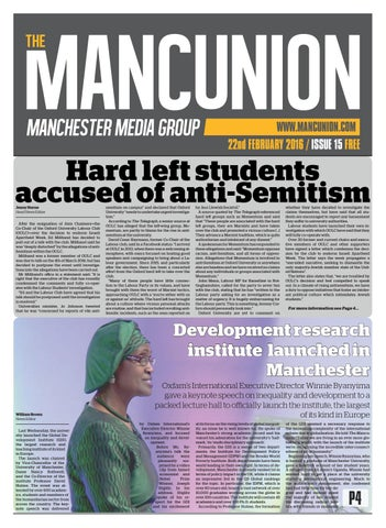 Issue15 by The Mancunion - issuu