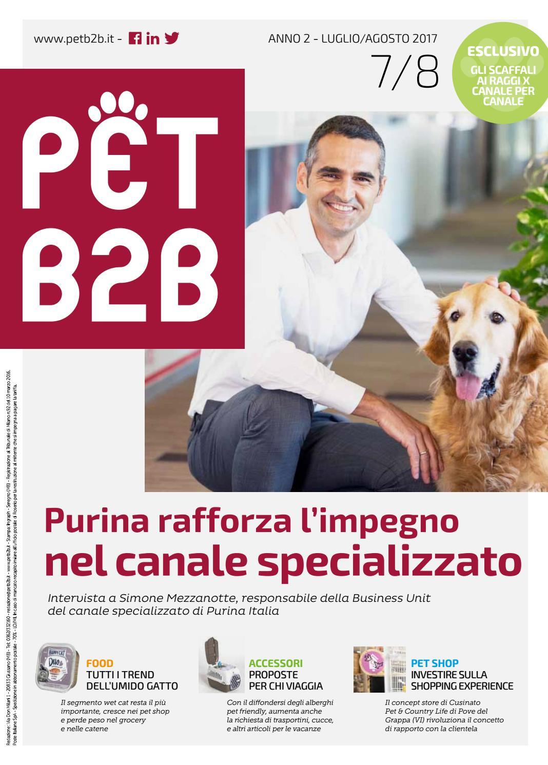 Pet B2B - Luglio 2017 by by Editoriale Farlastrada - issuu 76046caac6a0