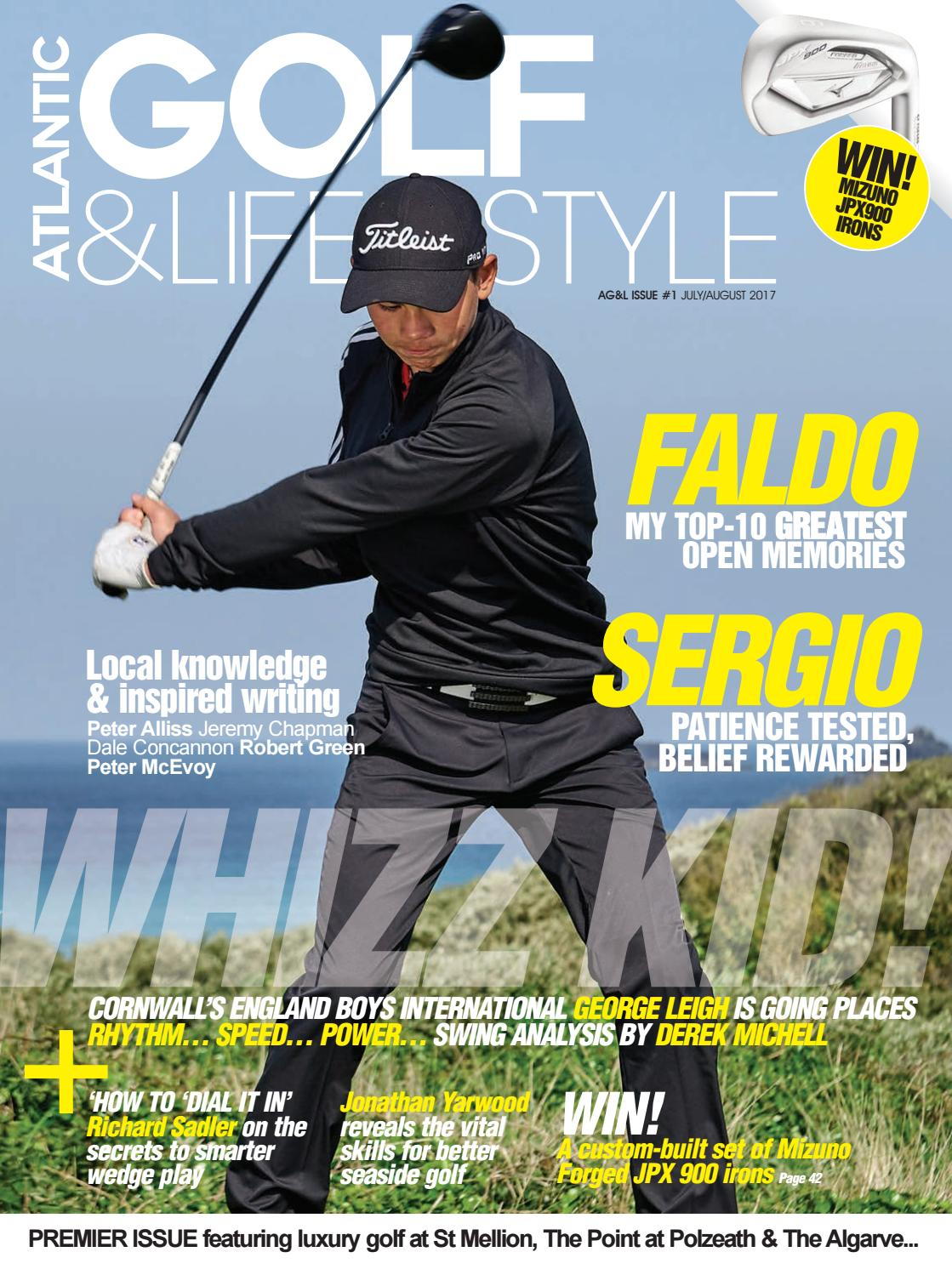 Atlantic Golf & Lifestyle magazine issue1 - July / August 2017 by Simmo Golf  Media - issuu