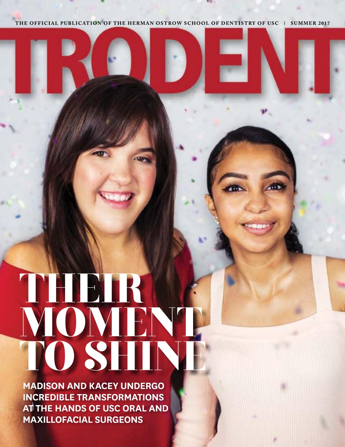 TroDent Summer 2017 by Herman Ostrow School of Dentistry of