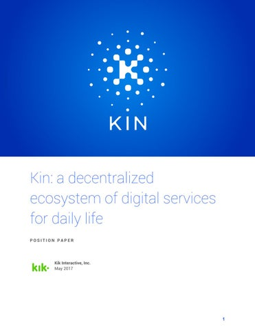 kin cryptocurrency exchange