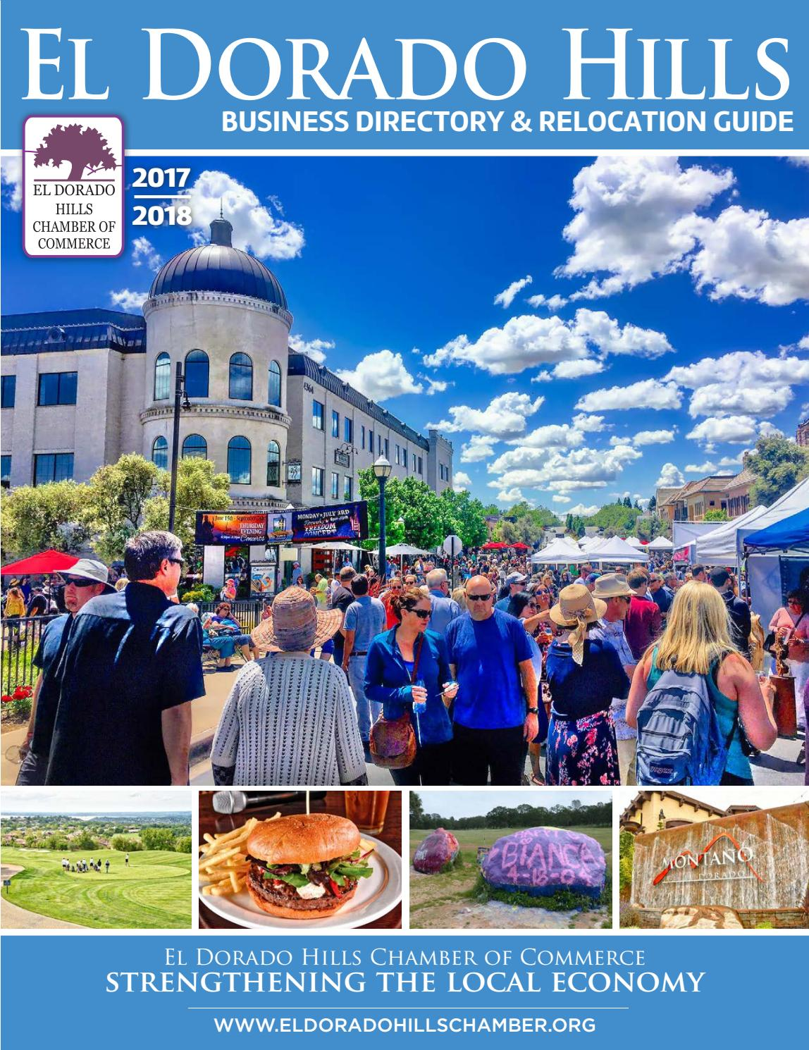El Dorado Hills Business Directory & Relocation Guide 2017