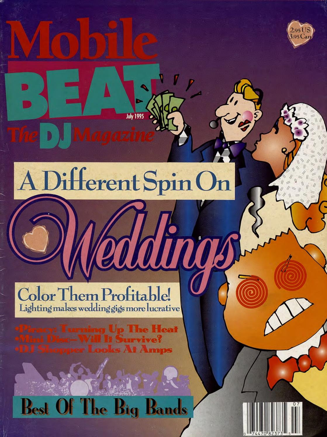 47936954a0e0 Issue 026 - July 1995 - A Different Spin On Weddings by Mobile Beat ...