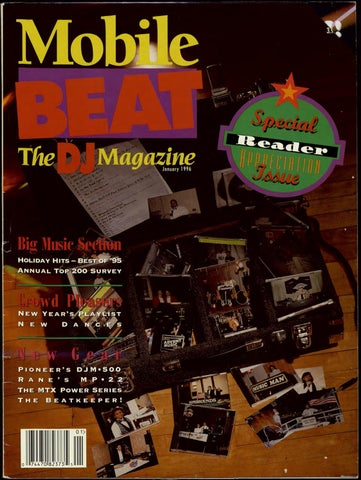 Issue 029 - January 1996 - Special Reader Appreciation Issue