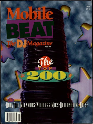 f169169f2a17c Issue 030 - March 1996 - The Top 200 by Mobile Beat Magazine - issuu