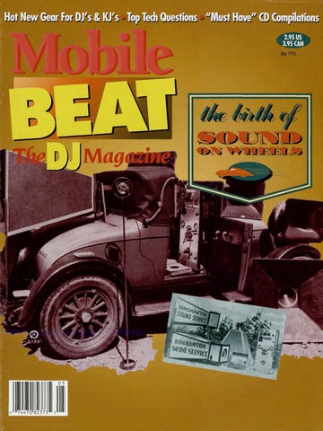 Issue 031 - May 1996 - The Birth Of Sound On Wheels by Mobile Beat