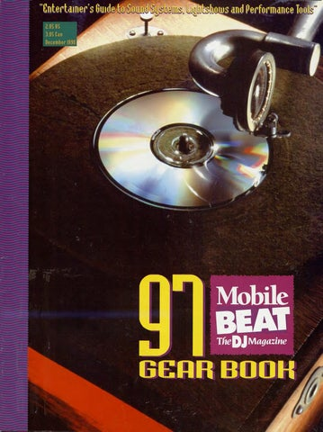 Issue 035 - December 1996 - 97 Gear Book by Mobile Beat