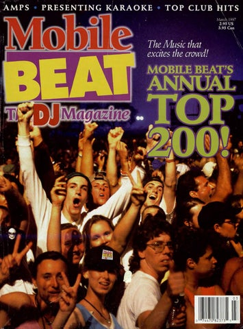 d08458732dd Issue 037 - March 1997 - Mobile Beat's Annual 200! by Mobile Beat ...