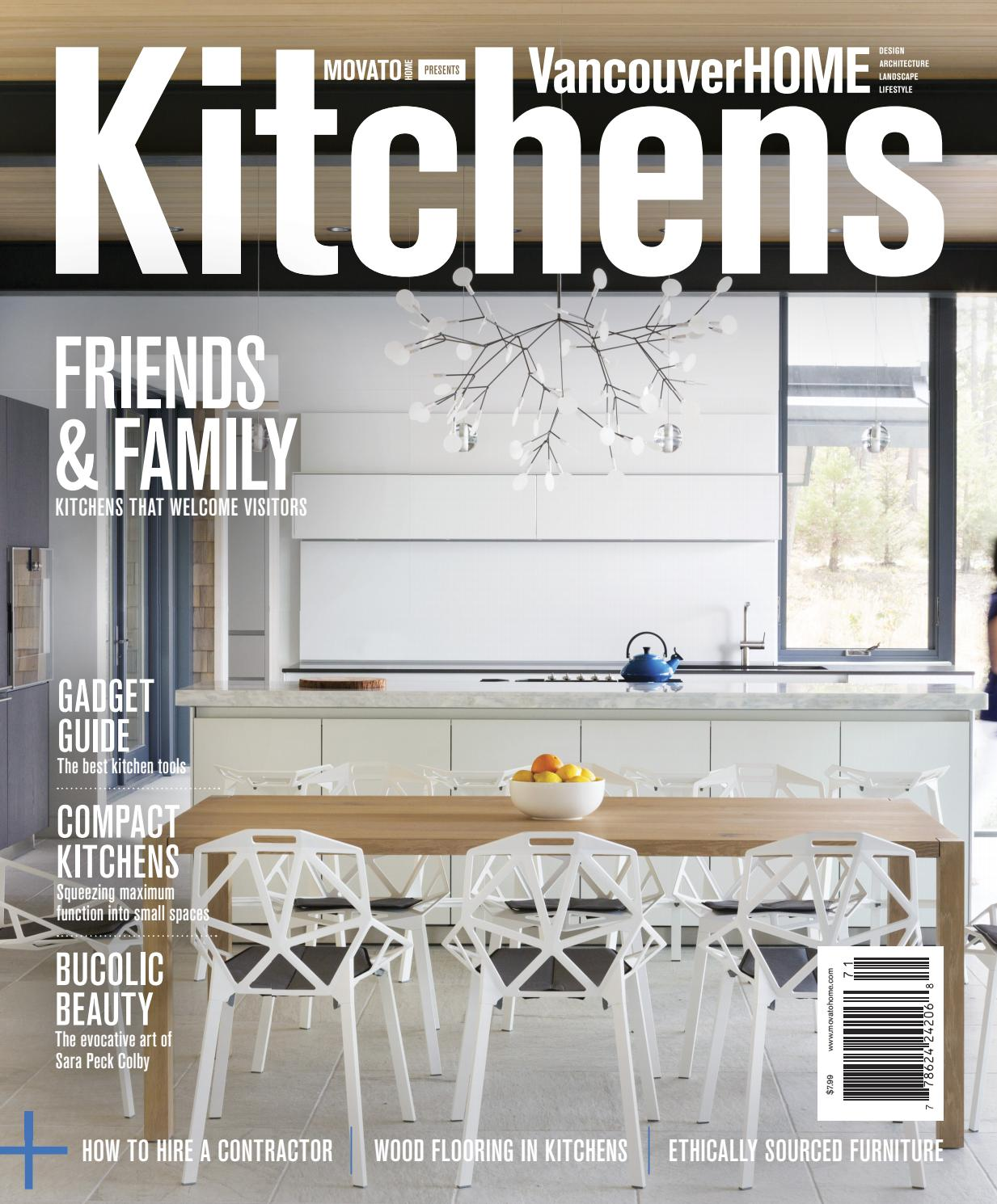 Vancouver Home - Kitchens 2017 By Home In Canada