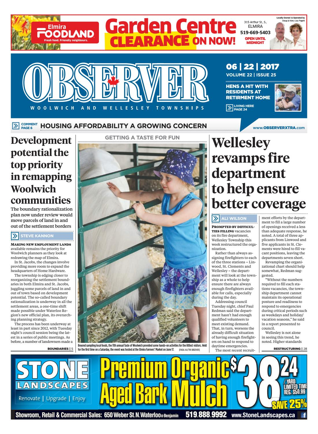 June 22, 2017 by Woolwich Observer - issuu