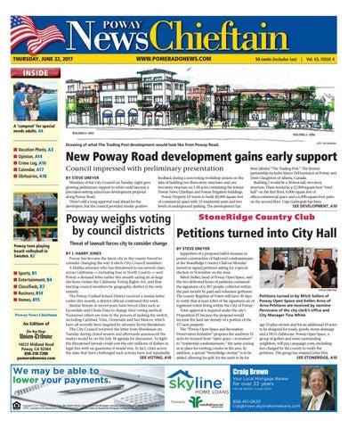 071568b6cd4 Poway News Chieftain 06 15 17 by MainStreet Media - issuu