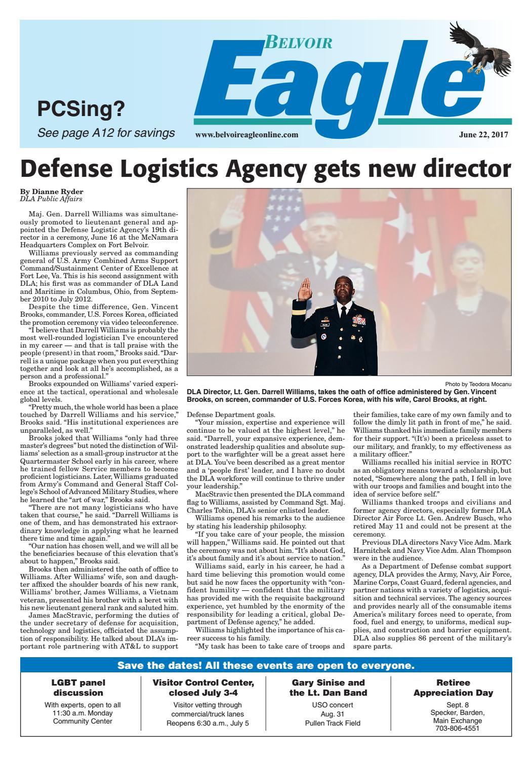 Belvoir Eagle, June 22, 2017 by InsideNoVa - issuu