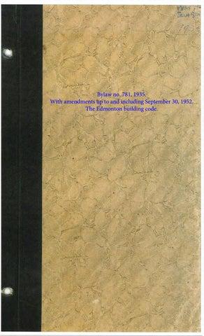 edmonton alta 1952 the edmonton building code bylaw no 781 rh issuu com