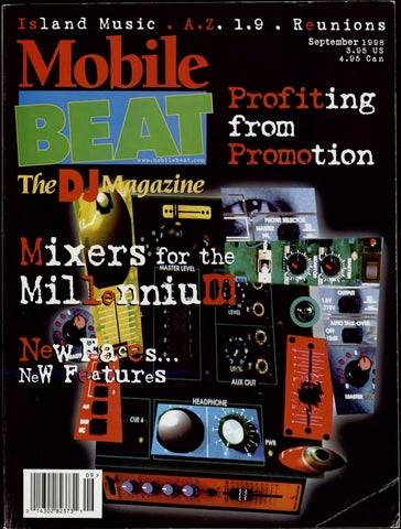 Issue 047 - September 1998 - Profiting from Promotion by Mobile Beat