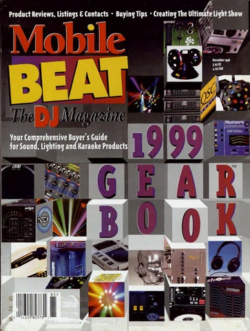 c06231053 Issue 049 - December 1998 - 1999 Gear Book by Mobile Beat Magazine ...
