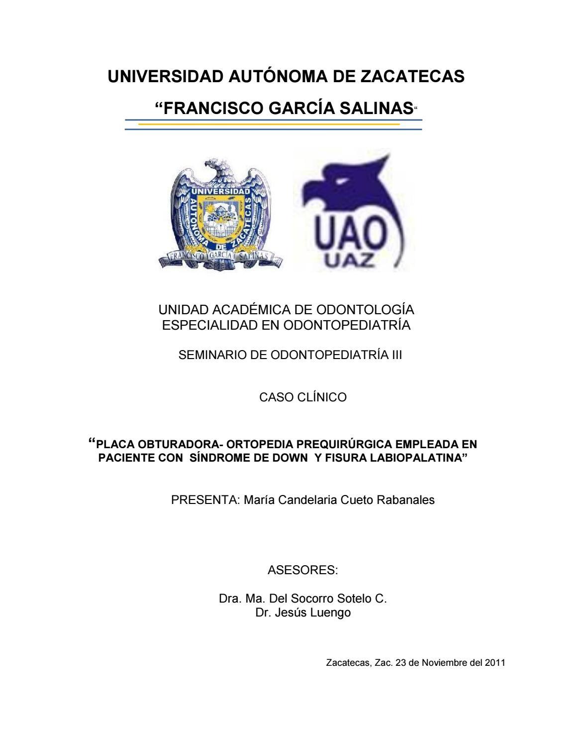 Caso clinico segundo cende cueto by Luis Antonio Santana Martinez ...