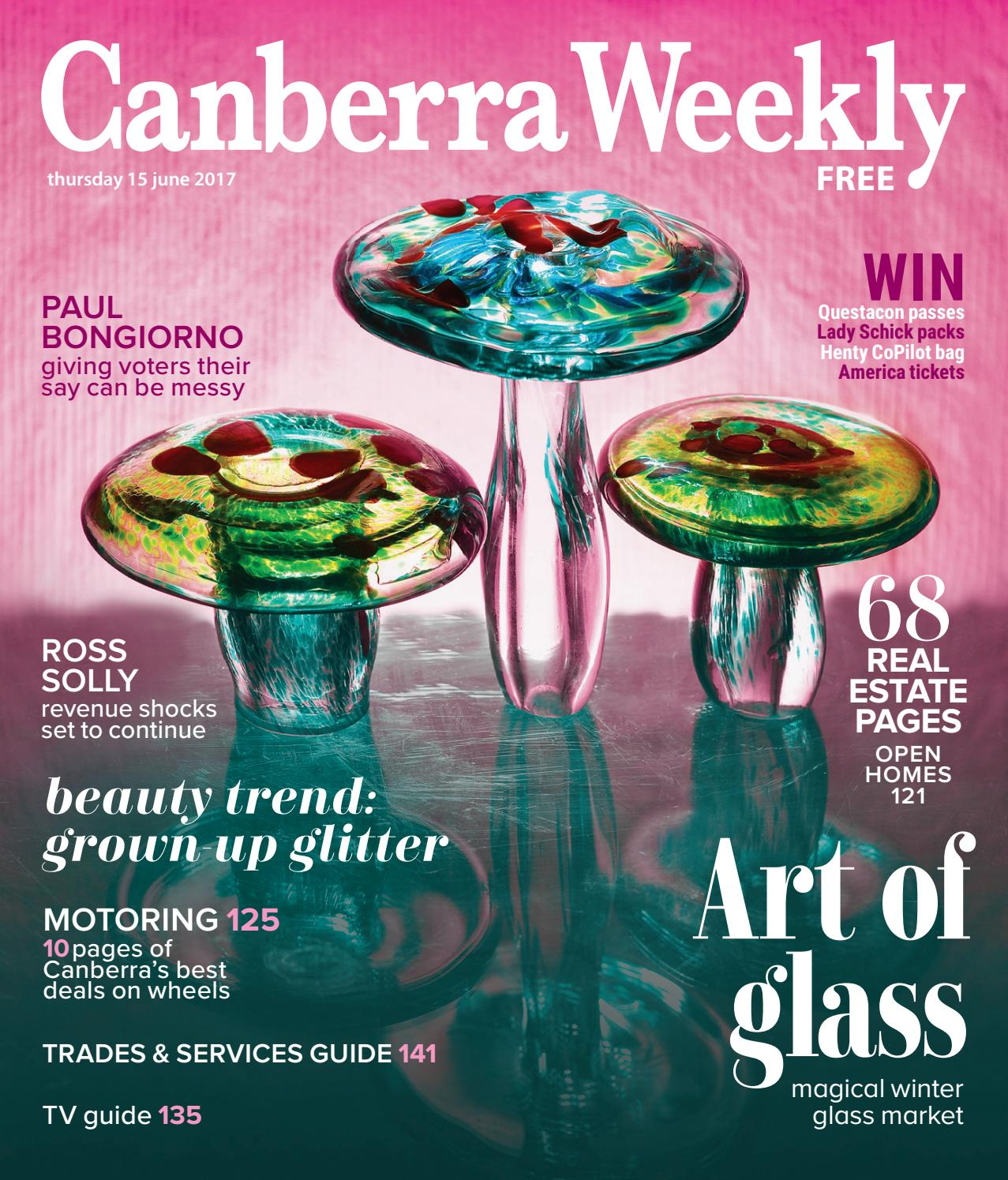 76534289b97b2 15 June 2017 by Canberra Weekly Magazine - issuu