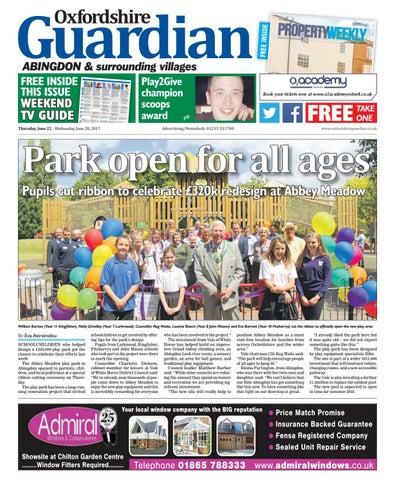 foto de 22 june 2017 oxfordshire guardian abingdon by Taylor Newspapers ...