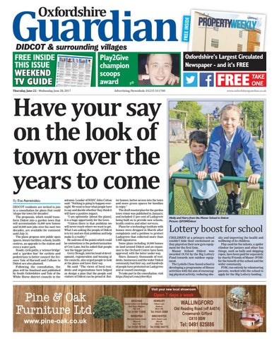 foto de 22 june 2017 oxfordshire guardian didcot by Taylor Newspapers - issuu