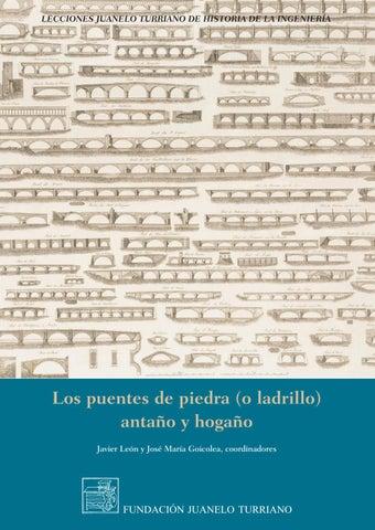 Los puentes de piedra o ladrillo by FUNDACIÓN JUANELO TURRIANO - issuu