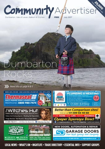 Dumbarton, Vale of Leven, Balloch and Drymen Community Advertiser - July  2017