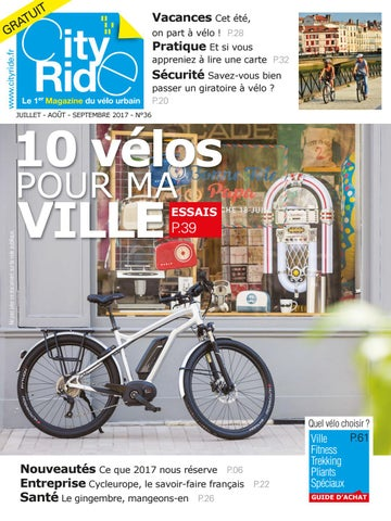 13b75d1f10704 City Ride 36 by Editions Blue Ride - issuu