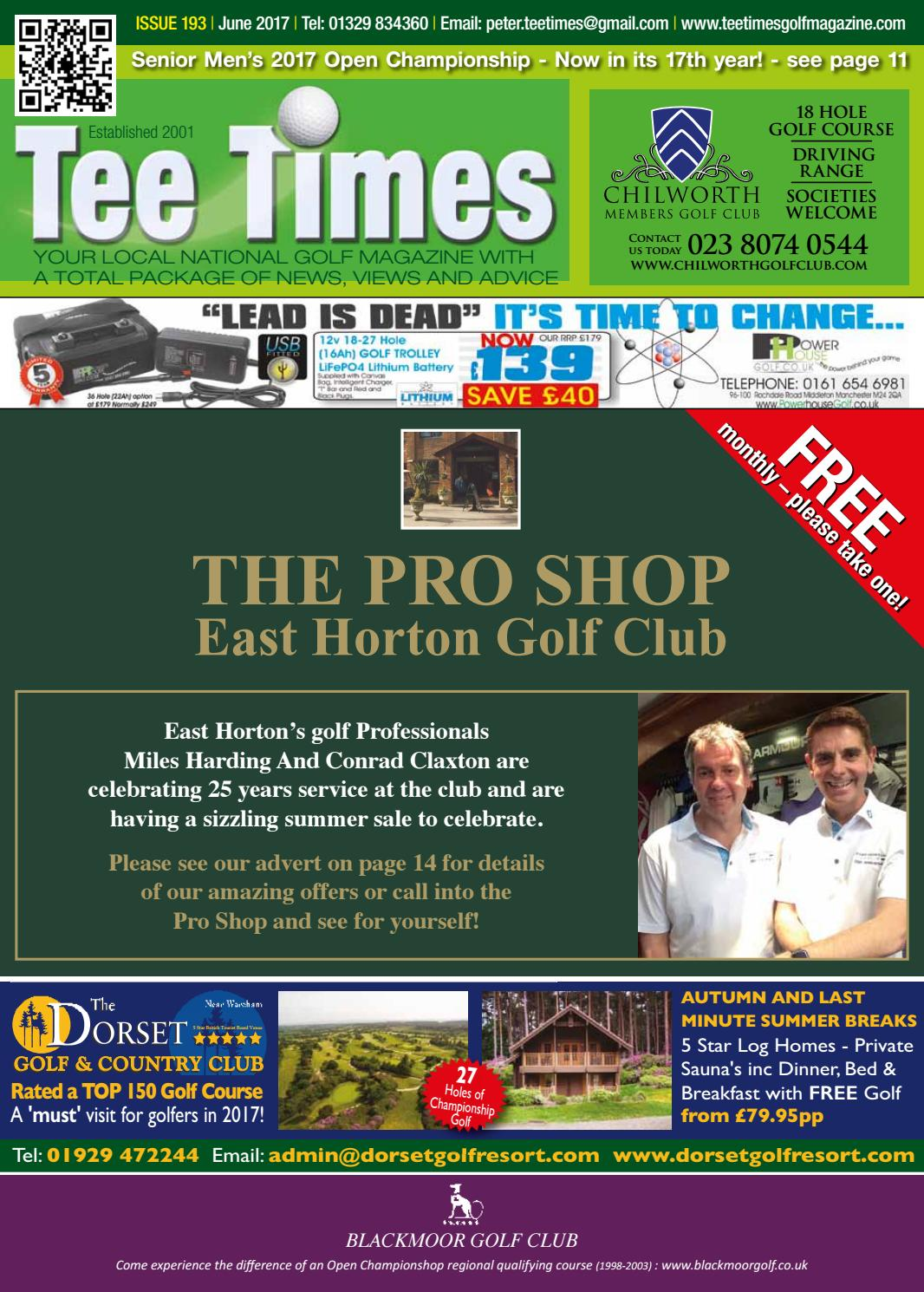 Tee Times Golf Magazine, June 2017 by Tee Times Golf