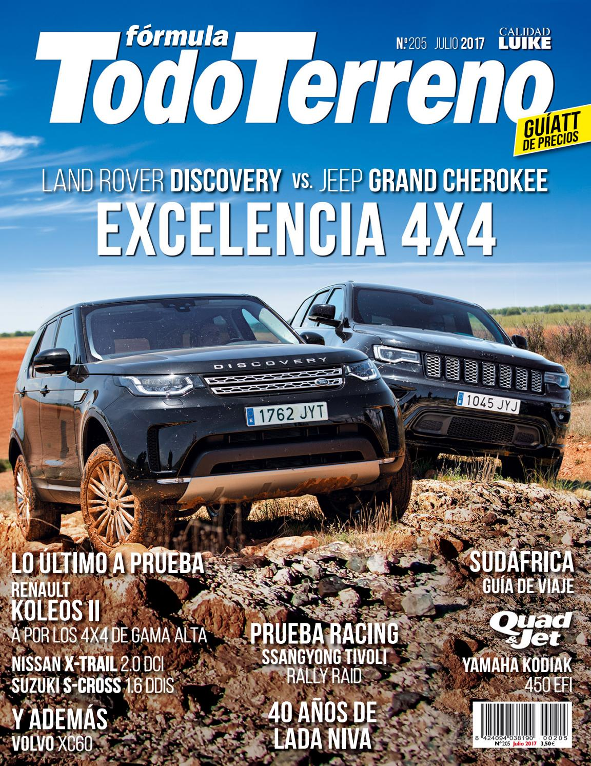 TodoTerreno Nº 205. Julio 2017 by LIDER - issuu