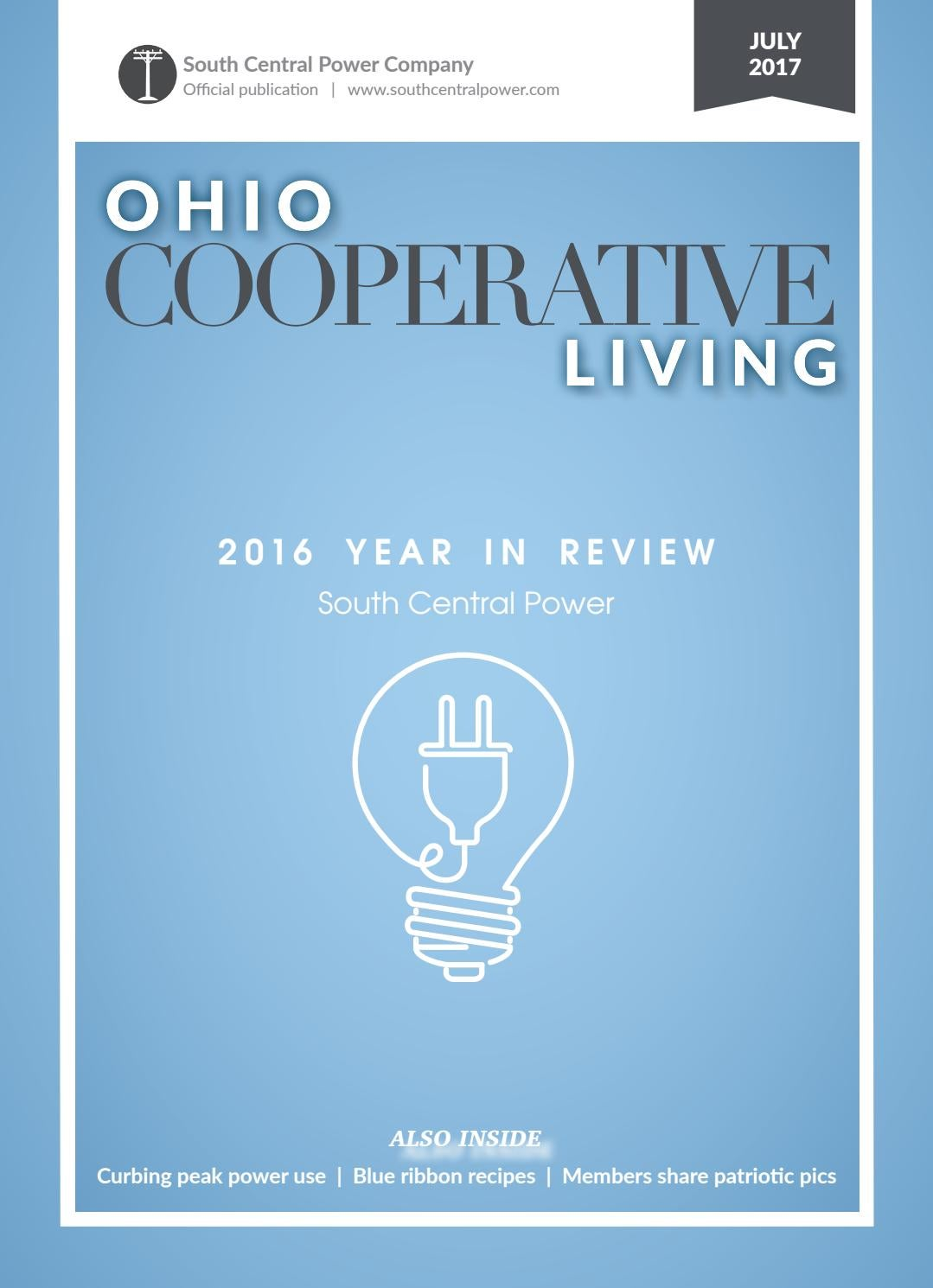 Ohio cooperative living july 2017 south central by Ohio