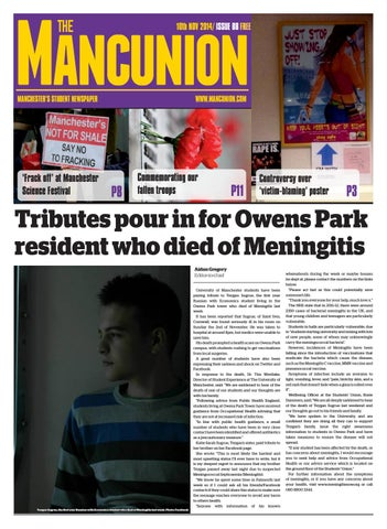 Issue8 By The Mancunion Issuu