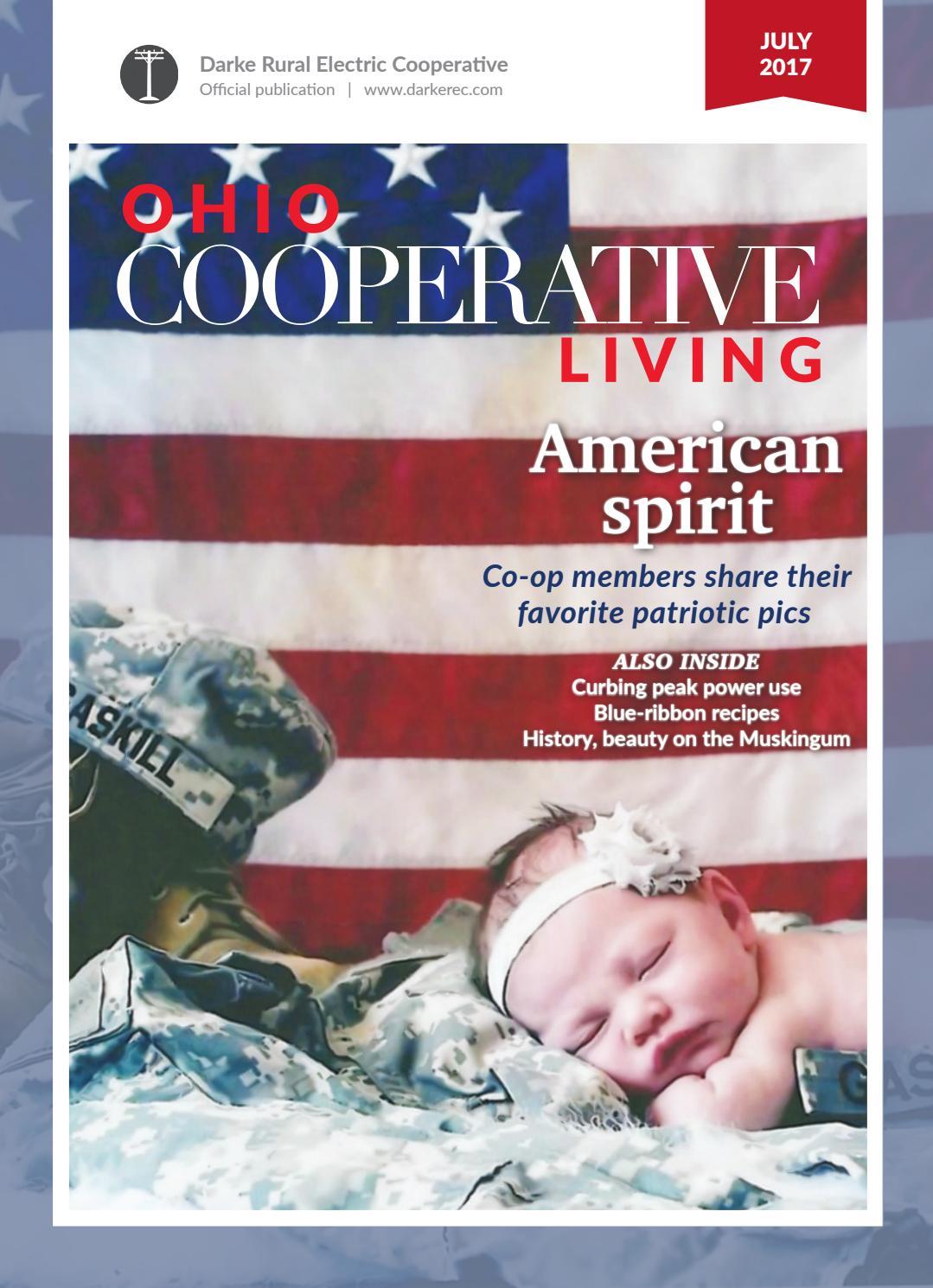 Ohio cooperative living july 2017 darke by Ohio Cooperative