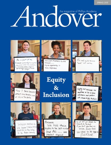 Andover The Magazine Spring 2015 By Phillips Academy Issuu