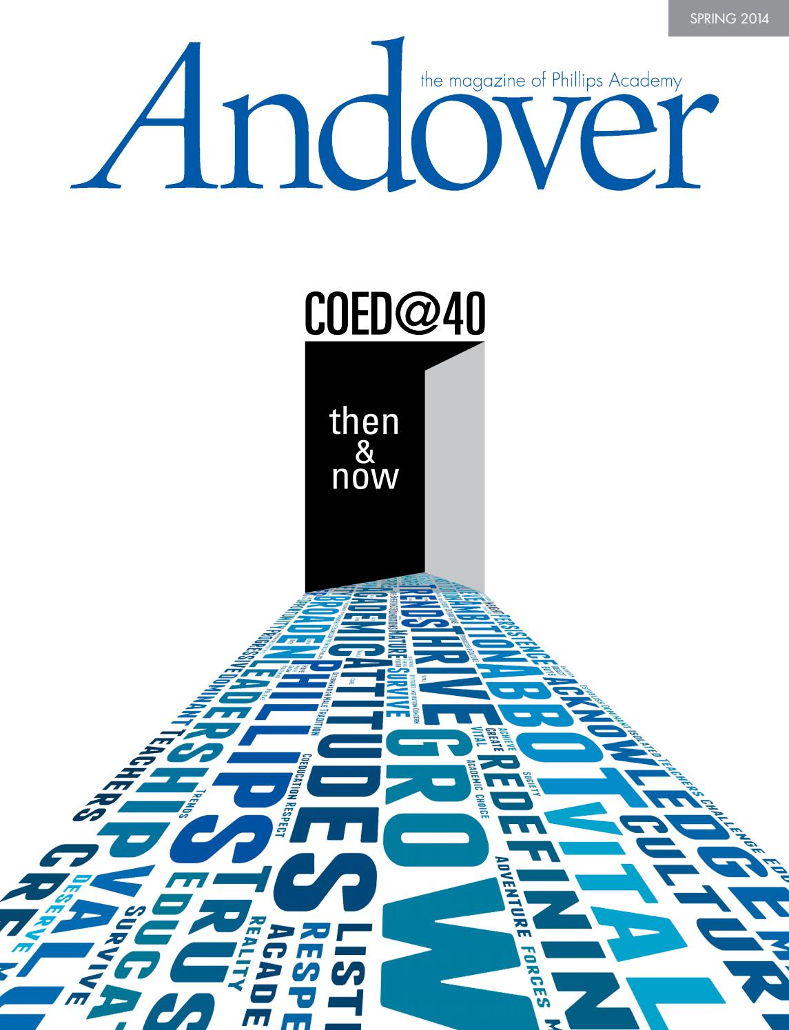 bd218bc971e9 Andover magazine  Spring 2014 by Phillips Academy - issuu