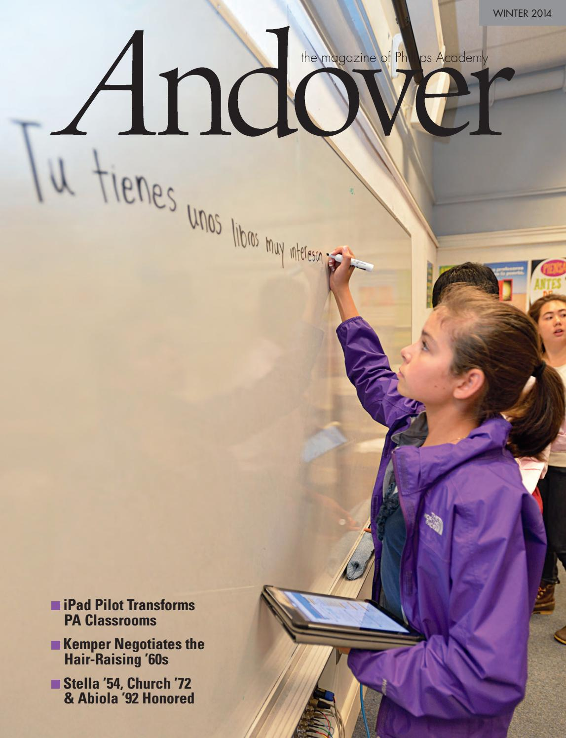 2037d8b0942d9c Andover Magazine — Winter 2014 by Phillips Academy - issuu