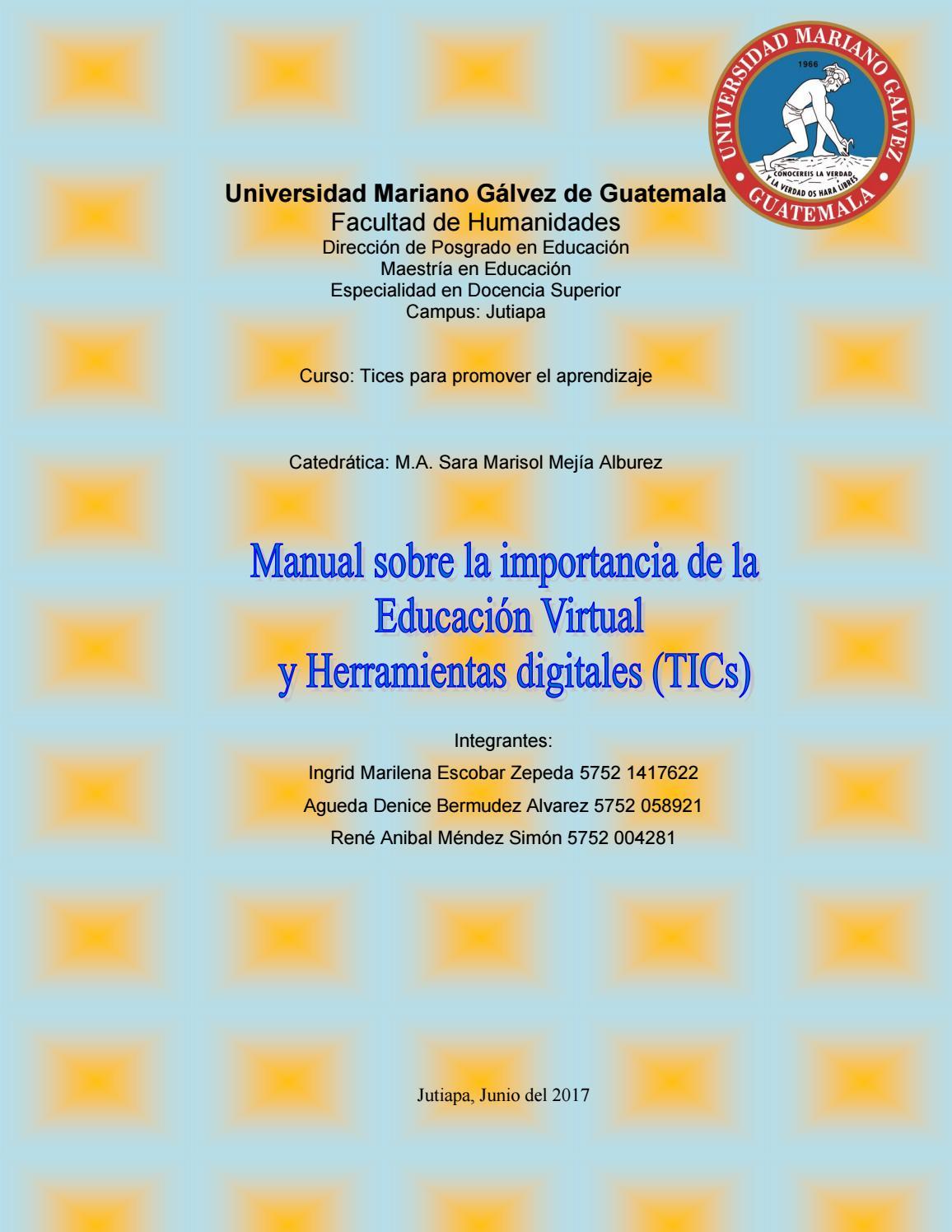 Manual herramientas tic by @ Red - issuu
