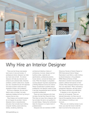 Page 56 of Why Hire an Interior Designer