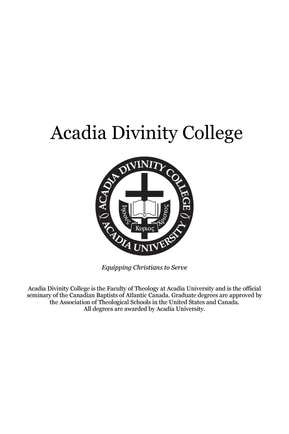 Marshall University Academic Calendar.2017 2018 Adc Academic Calendar By Acadia Divinity College Issuu