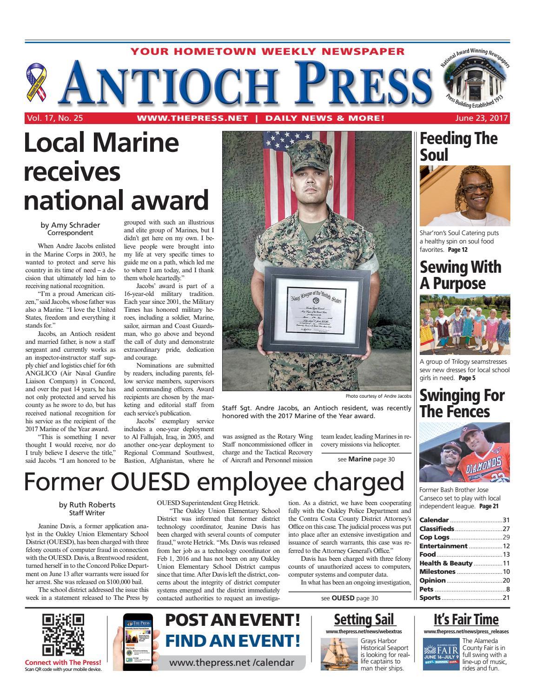 36fc922474 Antioch Press 06.23.17 by Brentwood Press   Publishing - issuu