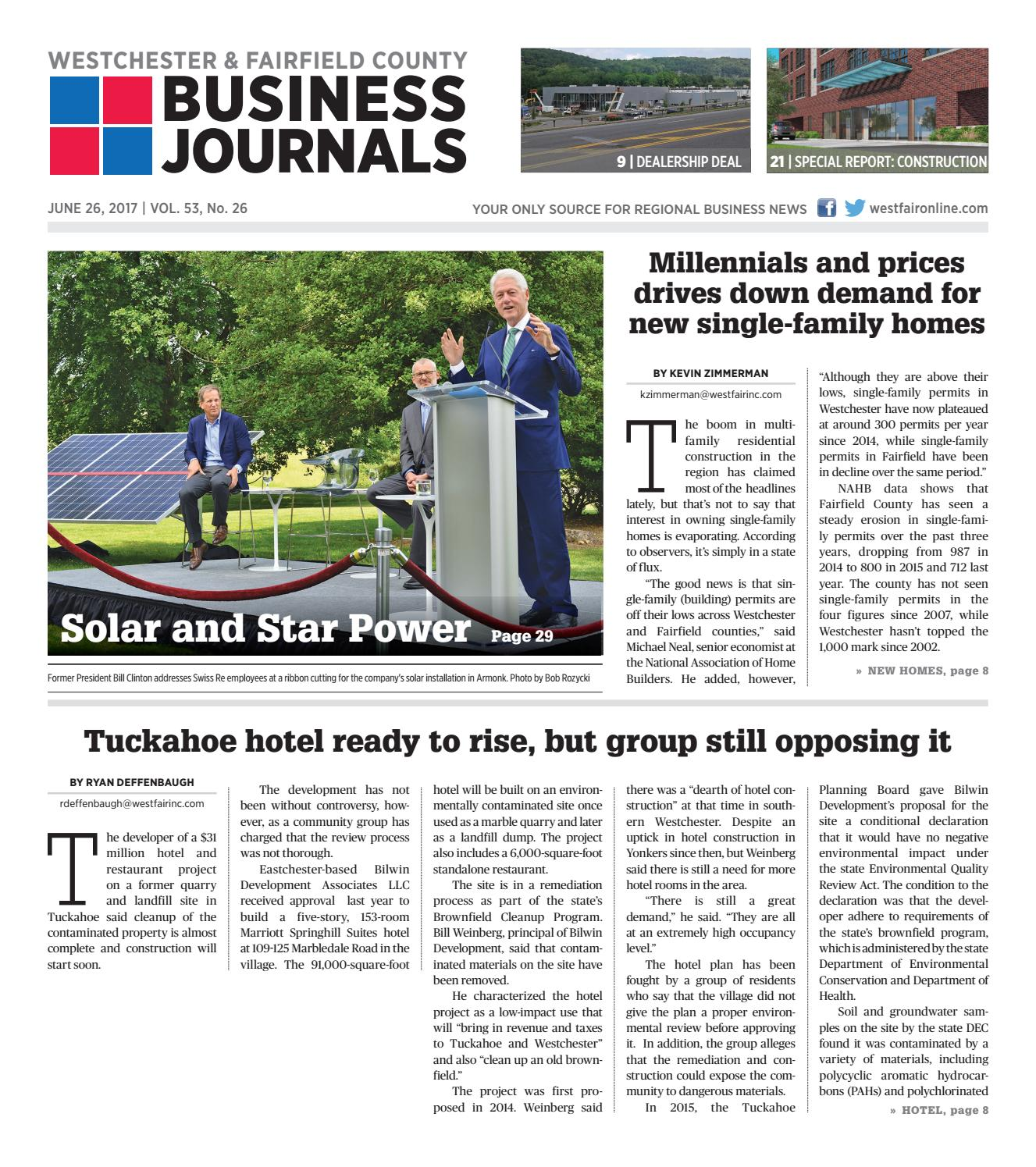Westchester and fairfield county business journals combined 062617 by wag magazine issuu