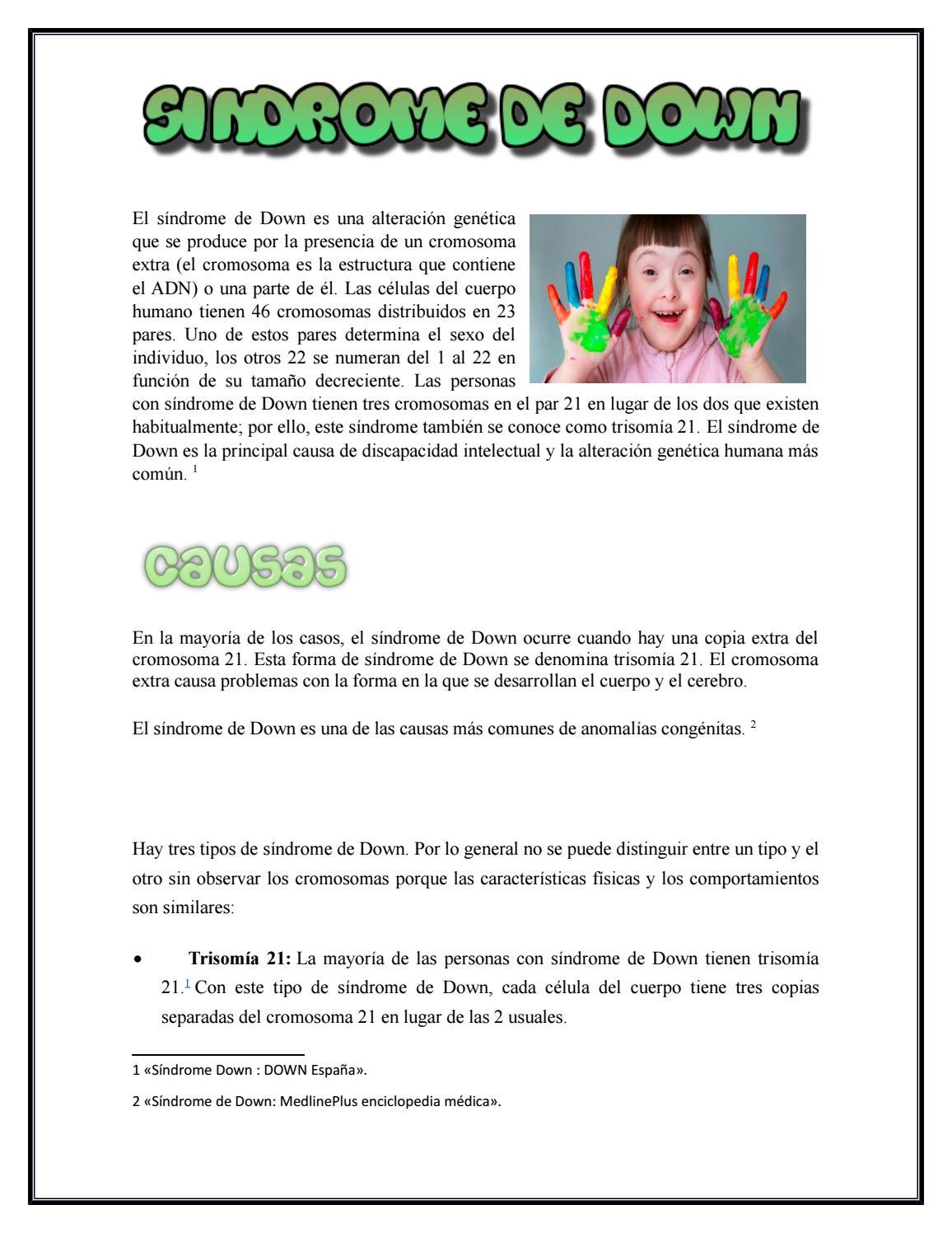 Tipos de sindromes pdf
