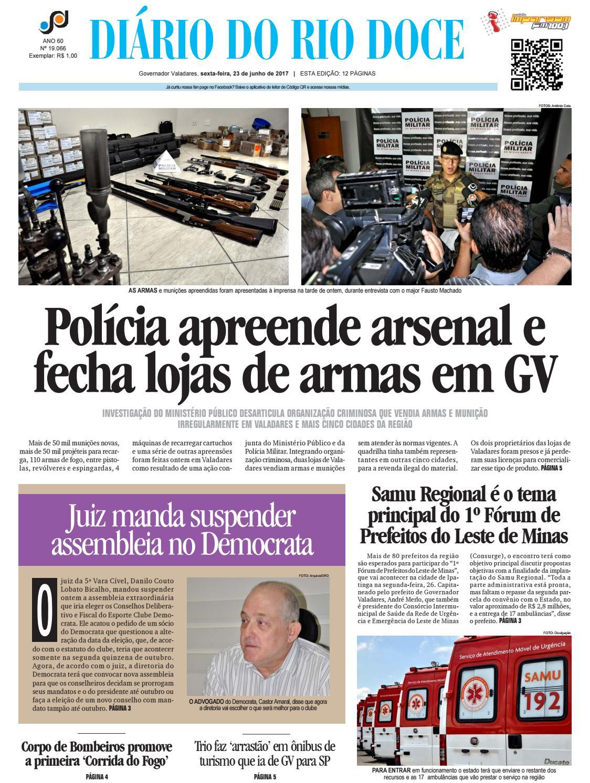 Diário do Rio Doce - Edição de 23 06 2017 by Diário do Rio Doce - issuu ae99d21778