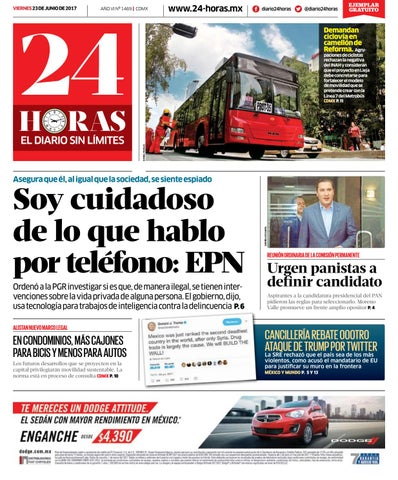 8d69bcacfa5 Junio | 23 | 2017 by Información Integral 24/7 SAPI de C.V. - issuu