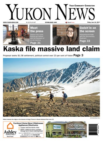 7e609dbaf0d Yukon News, June 16, 2017 by Black Press Media Group - issuu