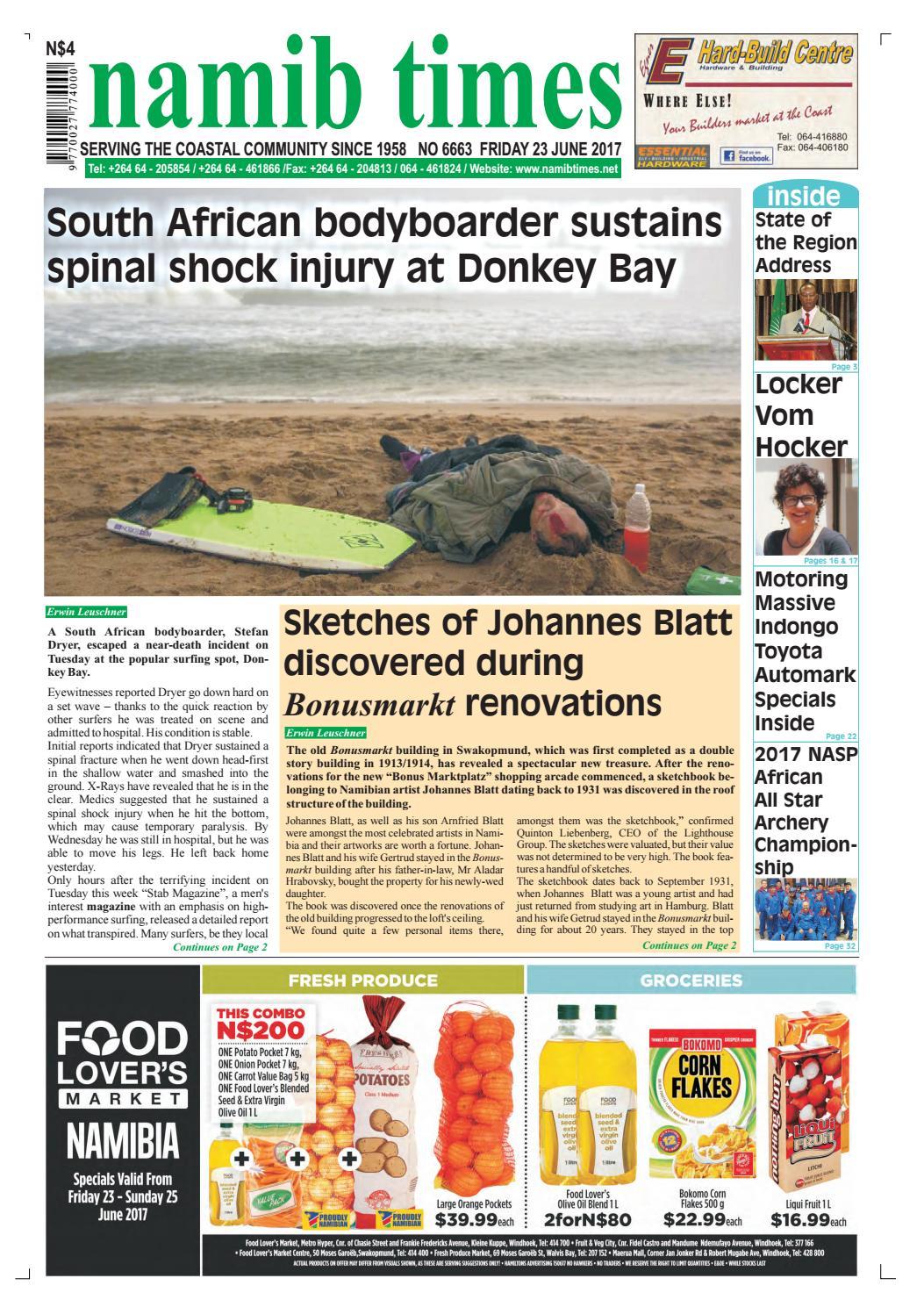 23 june namib times e edition by Namib Times Virtual - issuu