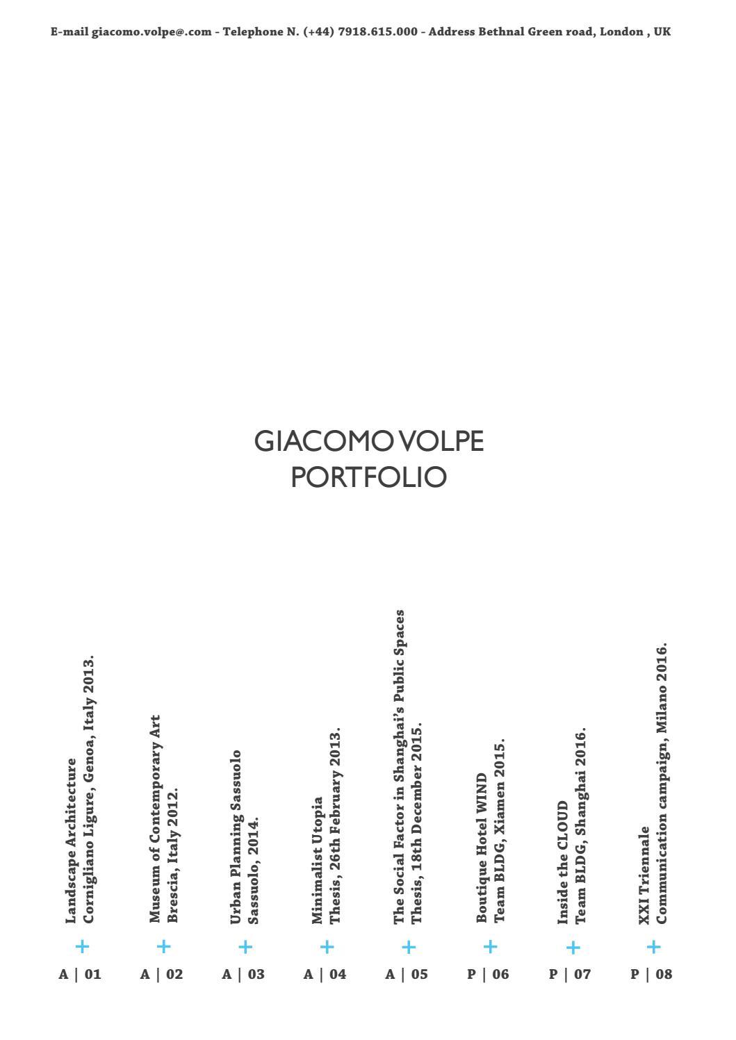 Gia O Volpe Portfolio By Gia O Volpe Issuu